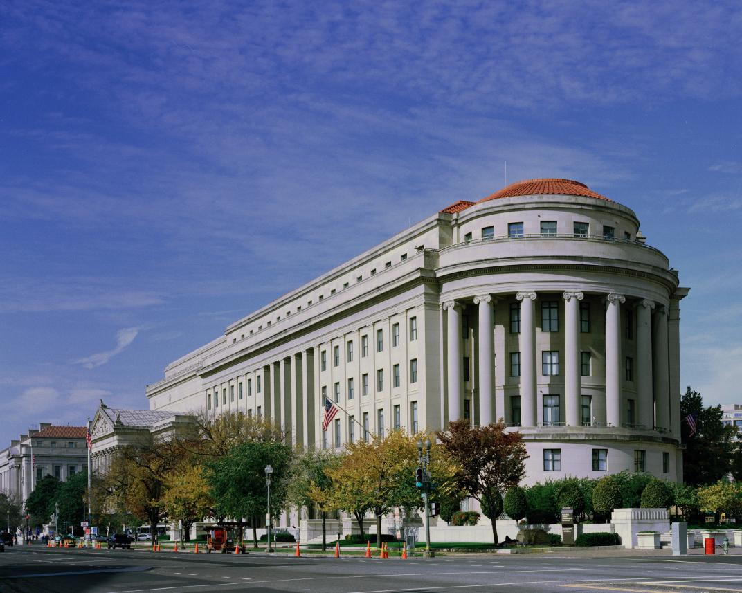 FTC Apex Building - Carol M. Highsmith (born 1946) - Photo from the Carol M. Highsmith collection, reproduction number LC-DIG-pplot-13734-01527