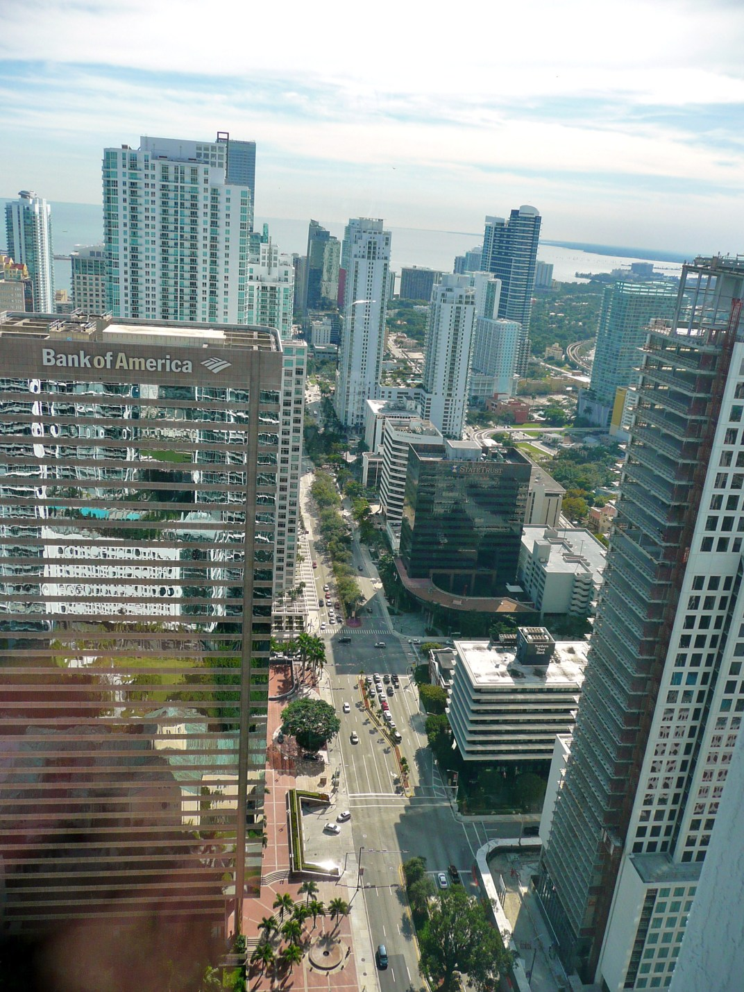 Miami's business district - Brickell Avenue by Avarette