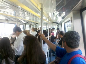 http://en.wikipedia.org/wiki/Downtown_Miami#mediaviewer/File:Crowded_Metromover.jpg