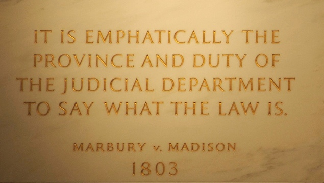 Marbury v Madison John Marshall by Swatjester crop - creative commons