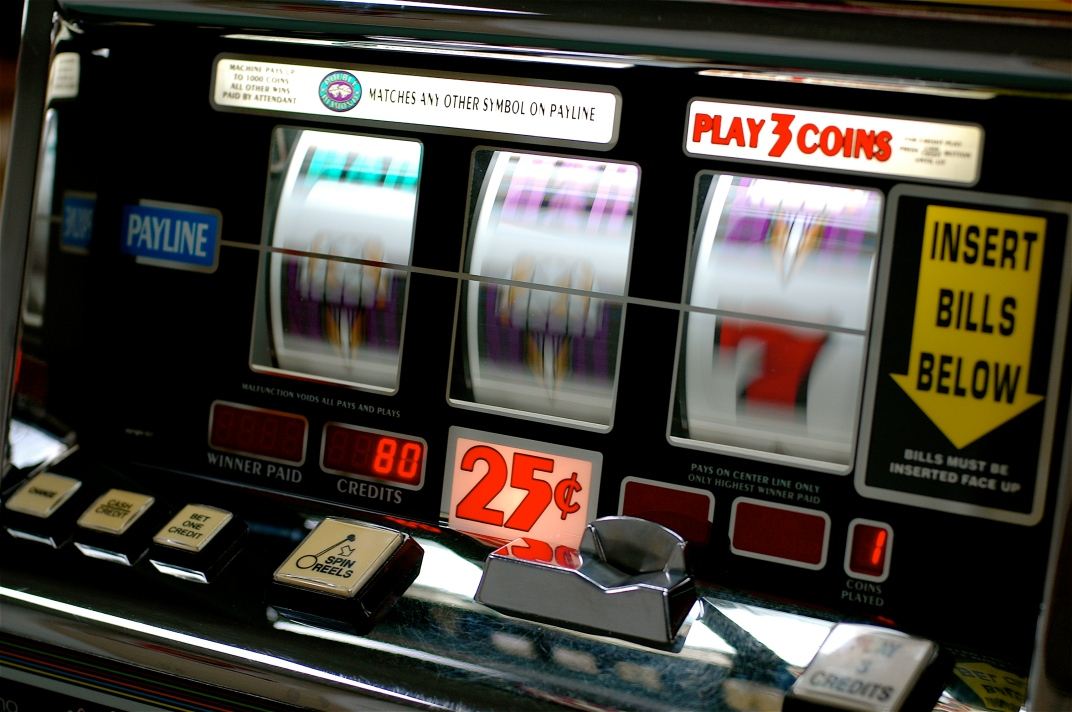 Slot machines by Jeff Kubina from the milky way galaxy