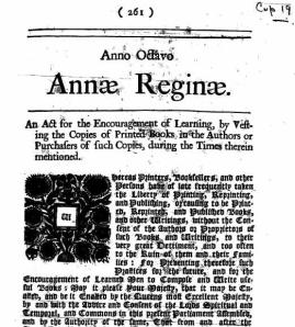 The Statute of Anne - IP - from British Government at http://en.wikipedia.org/wiki/Intellectual_property#mediaviewer/File:Statute_of_anne.jpg
