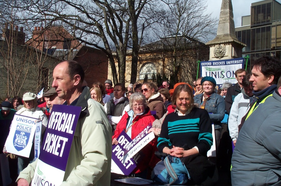 Unison Strike Rally